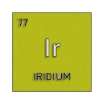 Color element cell for iridium.