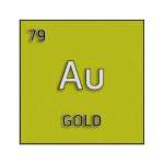 Color element cell for gold.