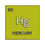 Color element cell for mercury.