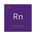 Color element cell for radon.