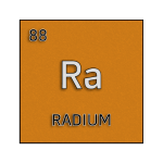 Color element cell for radium.