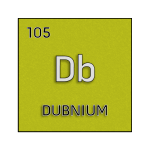 Color element cell for dubnium.