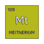 Color element cell for meitnerium.