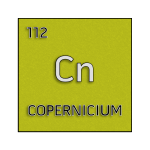 Color element cell for copernicium.