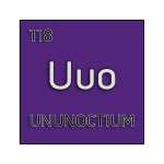Color element cell for ununoctium.