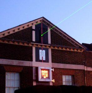 Greenwich observatory laser
