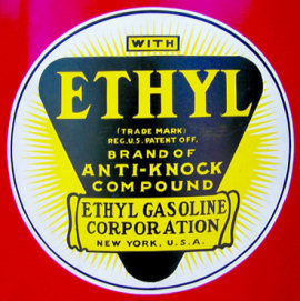 Label for Ethyl Gasoline Additive