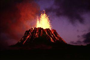 Pu'u 'O'o, a Hawaiian volcanic cone (G.E. Ulrich - pubs.usgs)