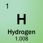 Element cell for 01-Hydrogen
