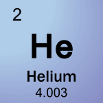 Element cell for 02-Helium
