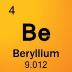 Element cell for 04-Beryllium