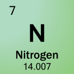 Element cell for 07-Nitrogen