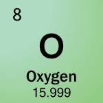 Element cell for 08-Oxygen
