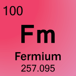 Element cell for 100-Fermium