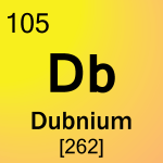 Element cell for 105-Dubnium
