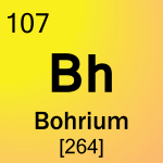 Element cell for 107-Bohrium