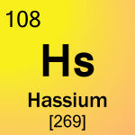 Element cell for 108-Hassium