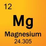 Element cell for 12-Magnesium