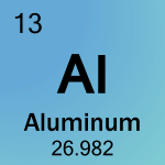 Element cell for 13-Aluminum