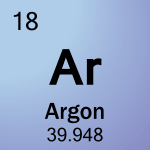 Element cell for 18-Argon
