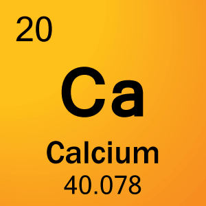 Periodic table element cards element cell for 20 calcium urtaz Image collections