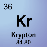 Element cell for 36-Krypton