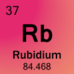 Element cell for 37-Rubidium