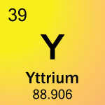Element cell for 39-Yttrium