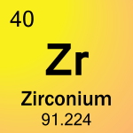 Element cell for 40-Zirconium