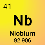 Element cell for 41-Niobium