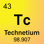Element cell for 43-Technetium