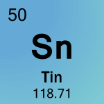 Element cell for 50-Tin