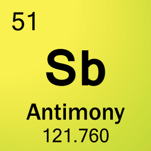 New sb periodic table of elements elements periodic table sb of science antimony projects and notes cell element 51 urtaz Choice Image