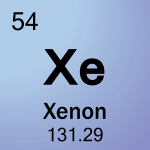 Element cell for 54-Xenon