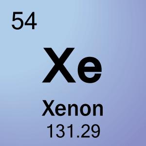 Xenon Periodic Table 54-Xenon Element Cell ...