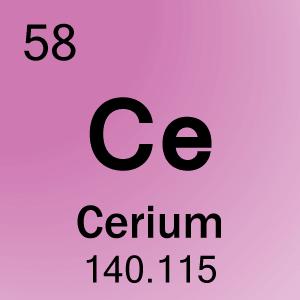 58-Cerium Element Cell...