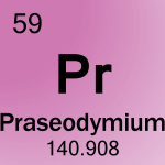 Element cell for 59-Praseodymium