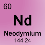 Element cell for 60-Neodymium