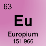 Element cell for 63-Europium