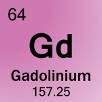 Element cell for 64-Gadolinium