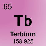 Element cell for 65-Terbium