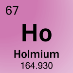 Element cell for 67-Holmium
