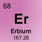 Element cell for 68-Erbium
