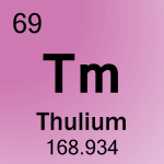 Element cell for 69-Thulium