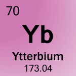 Element cell for 70-Ytterbium