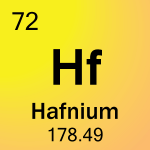 Element cell for 72-Hafnium