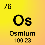 Element cell for 76-Osmium