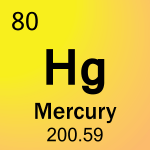 Element cell for 80-Mercury