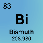 Element cell for 83-Bismuth