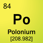 Element cell for 84-Polonium